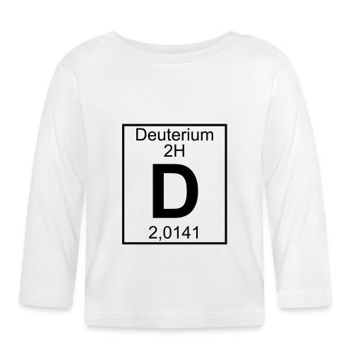 D (Deuterium) - Element 2H - pfll - Baby Long Sleeve T-Shirt