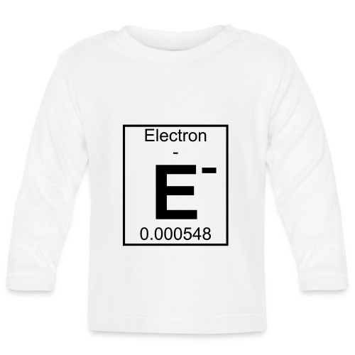 E (electron) - pfll - Baby Long Sleeve T-Shirt