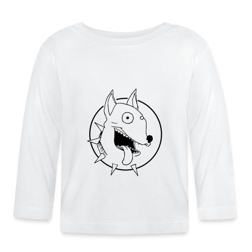 chien fou - T-shirt manches longues Bébé