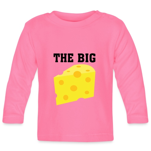 The BIG Cheese - Baby Long Sleeve T-Shirt