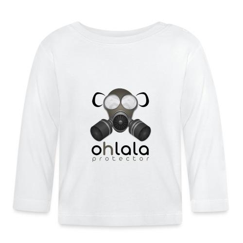 OHLALA PROTECTOR BLK - T-shirt manches longues Bébé
