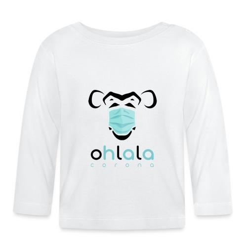 OHLALA CORONA WHITE - T-shirt manches longues Bébé