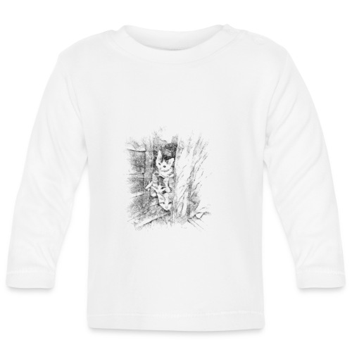 Des chatons curieux - T-shirt manches longues Bébé