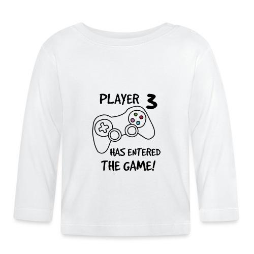 Player 3 has entered The Game - Langærmet babyshirt