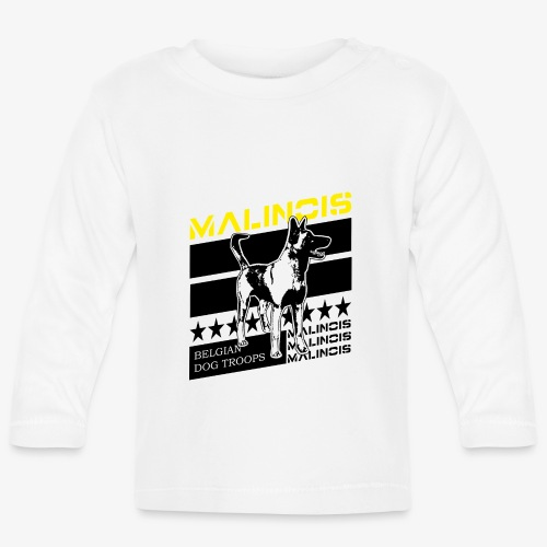 Malinois - Belgian Dog Troops - Baby Langarmshirt