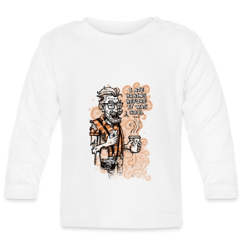 Zomb Hipster - Baby Long Sleeve T-Shirt