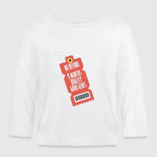 norefund png - Langærmet babyshirt