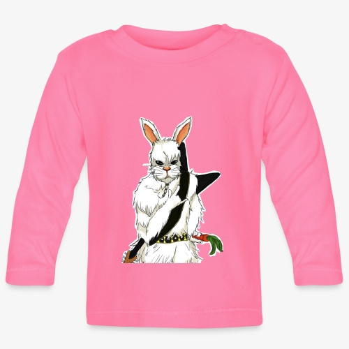 The white Rabbit - Langarmet baby-T-skjorte