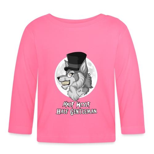 Half Wolf Half Gentleman - Koszulka niemowlęca z długim rękawem