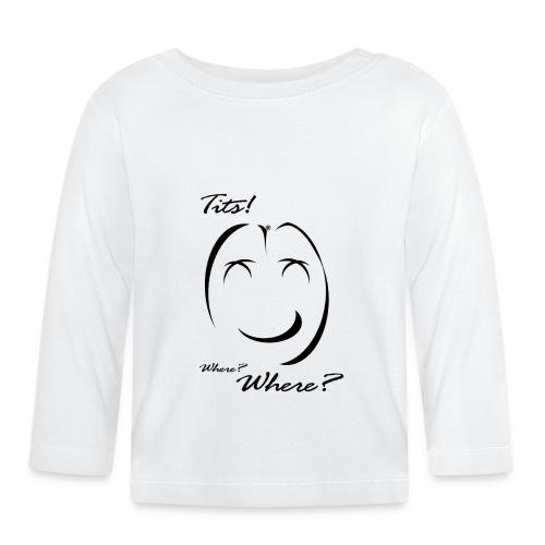 tits - Maglietta a manica lunga per bambini