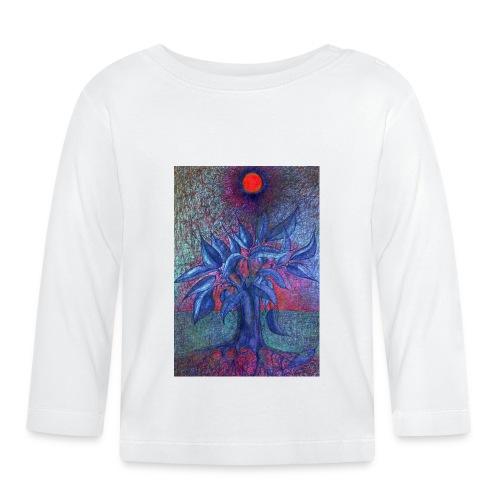 DrzewoKwiat - Koszulka niemowlęca z długim rękawem