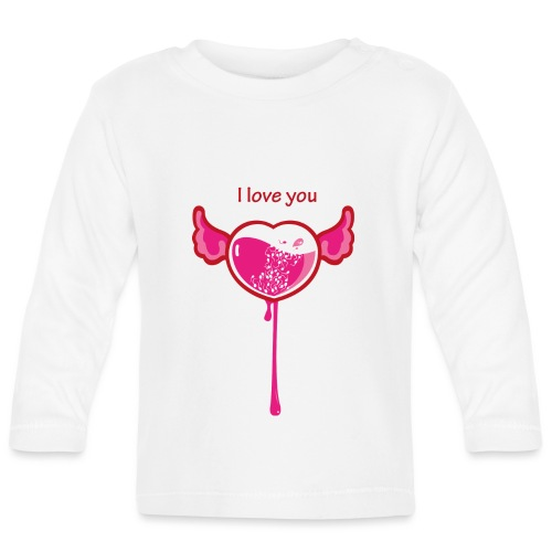 I love you - Maglietta a manica lunga per bambini