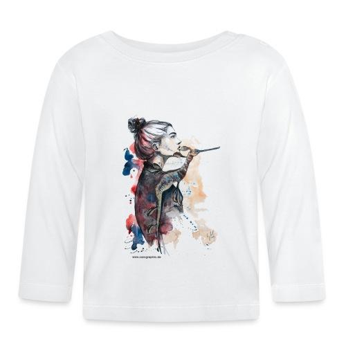 seehorse seepferdchen by carographic - Baby Langarmshirt
