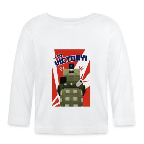 Dalek Mod - To Victory - Baby Long Sleeve T-Shirt