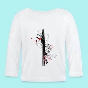 Papillonade - T-shirt manches longues Bébé