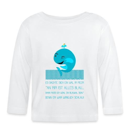 Blauwal - Baby Langarmshirt
