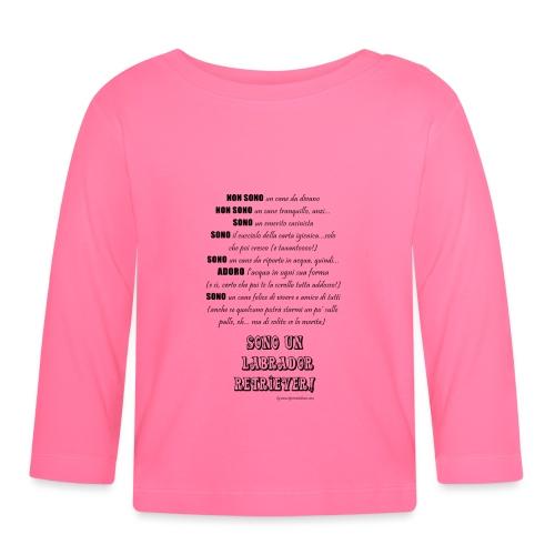 Vero standard Labrador - Maglietta a manica lunga per bambini