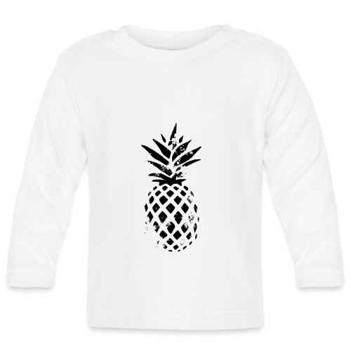 ananas - T-shirt manches longues Bébé
