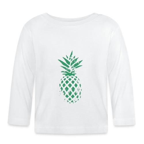 Ananas vert - T-shirt manches longues Bébé