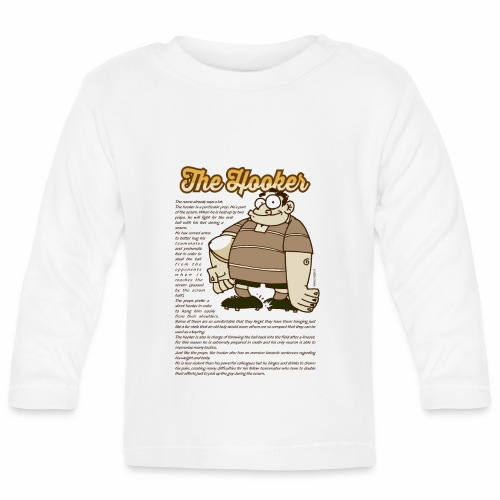 Hooker_Marplo.png - Maglietta a manica lunga per bambini