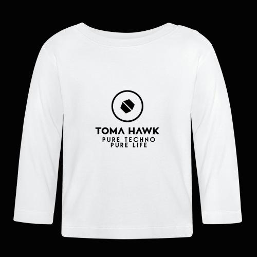 Toma Hawk - Pure Techno - Pure Life Black - Baby Langarmshirt