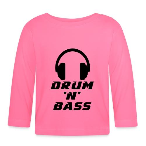 Drum 'n' Bass Music - Baby Langarmshirt