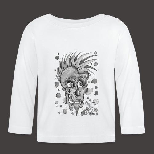 Autoportrait Noir et Blanc - T-shirt manches longues Bébé