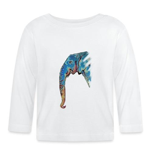 Éléphant Design - T-shirt manches longues Bébé