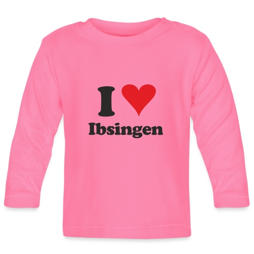I Love Ibsingen - Baby Langarmshirt