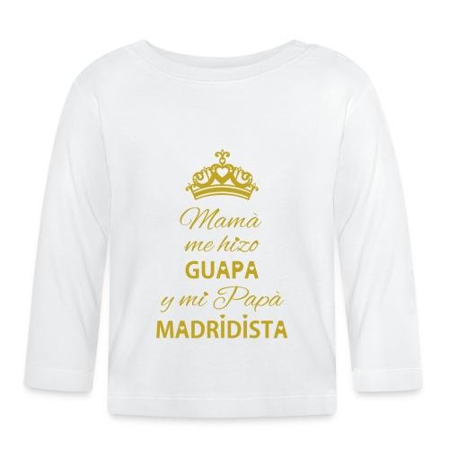 Guapa Madridista - Maglietta a manica lunga per bambini