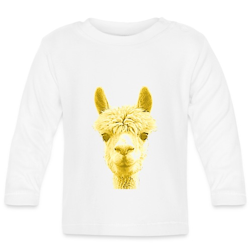 Alpaka Lama Kamel Peru Anden Südamerika Wolle - Baby Langarmshirt