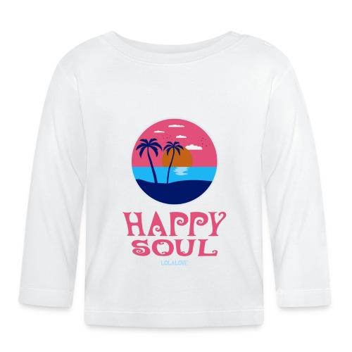 Happy Soul! - Baby Langarmshirt