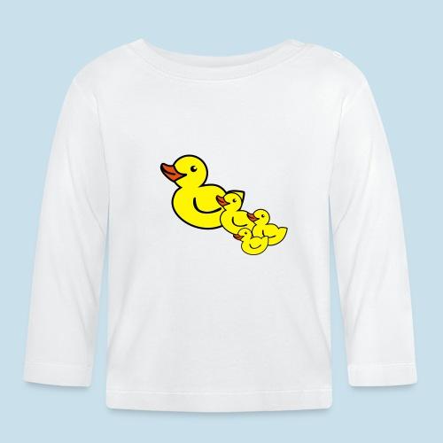 Ente - Baby Langarmshirt