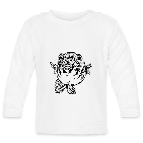 Puff the Blowfish - Baby Long Sleeve T-Shirt