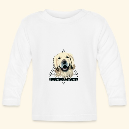 RETRIEVER LOVE FOREVER - Camiseta manga larga bebé