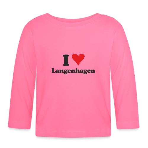 I Love Langenhagen - Baby Langarmshirt