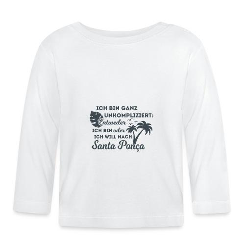 Santa Ponça auf Mallorca - TOP Urlaubsort - Malle - Baby Langarmshirt