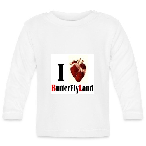 I love Butterflyland - T-shirt manches longues Bébé