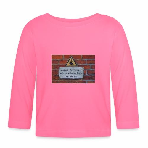 Original Artist design * Jedes Verweilen - Baby Long Sleeve T-Shirt