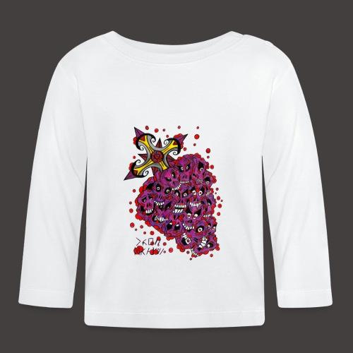 Cross Grapes - T-shirt manches longues Bébé