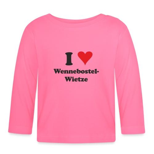 I Love Wennebostel-Wietze - Baby Langarmshirt