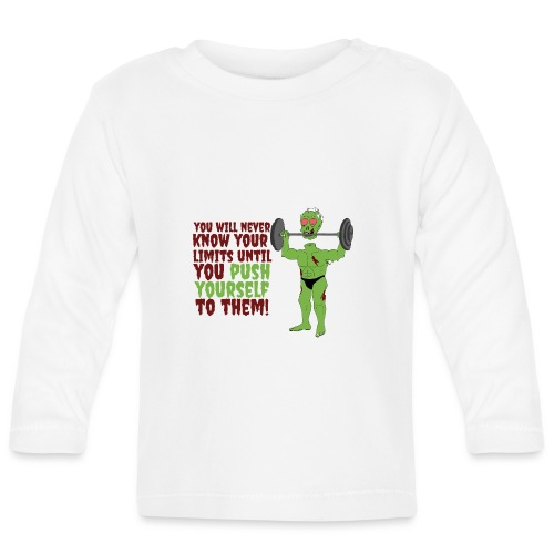 Push yourself - Baby Long Sleeve T-Shirt