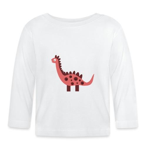 Dino pink - Baby Long Sleeve T-Shirt