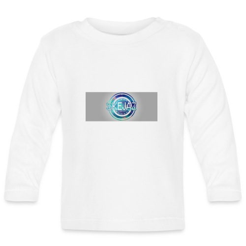 LOGO WITH BACKGROUND - Baby Long Sleeve T-Shirt