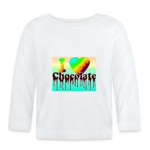 ILOVCHOCO2 copie - T-shirt manches longues Bébé