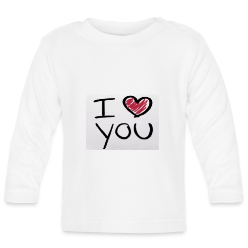 I love you phone case - Baby Long Sleeve T-Shirt