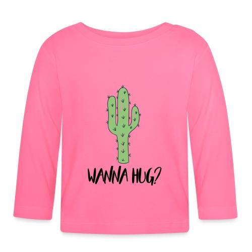 Wanna Hug? - Baby Langarmshirt