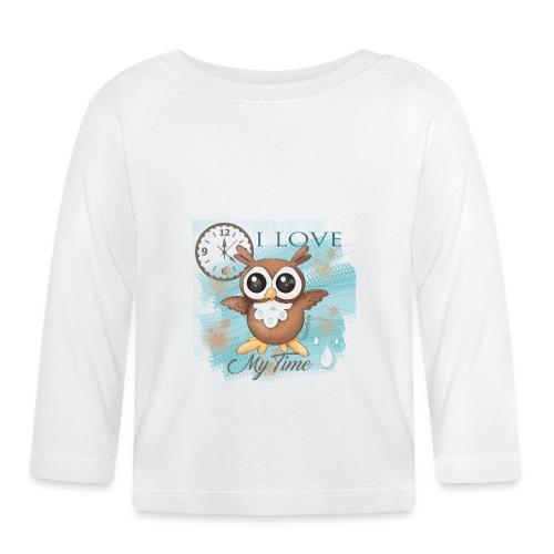 GUFO-E-TEMPO - Maglietta a manica lunga per bambini