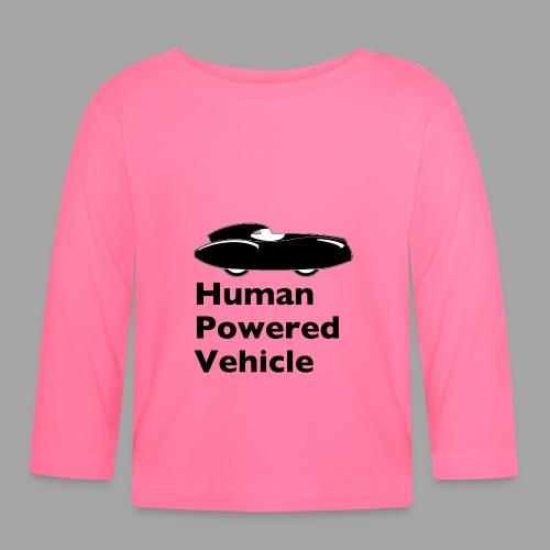 Quattrovelo Human Powered Vehicle black - Vauvan pitkähihainen paita