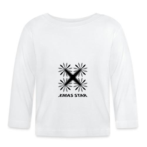 Nouvelle étoile de Noël - T-shirt manches longues Bébé